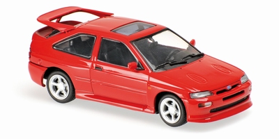 Maxichamps 1:43 Ford Escort Cosworth 1992 rood