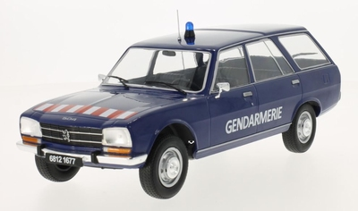 MCG 1:18 Peugeot 504 Break Gendamerie blauw