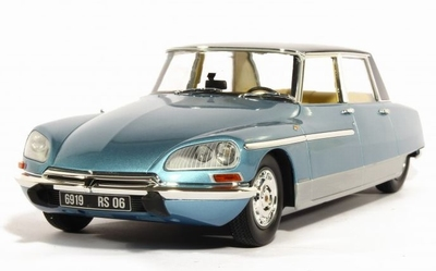METAL-18 1:18 Citroen DS 21 Chapron Lorraine 1969 blauw