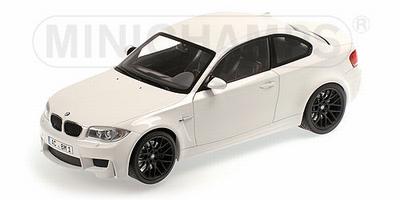 Minichamps 1:18 BMW 1er M Coupe 2011 Alpine wit