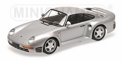 Minichamps 1:18 Porsche 959 1987 zilver