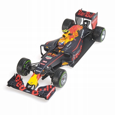 Minichamps 1:18 Red Bull RB12 Max Verstappen Brazillian 2016