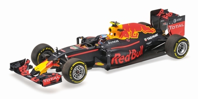 Minichamps 1:18 Red Bull RB12 Max Verstappen Winner Spanje