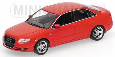 Minichamps 1:43 Audi A4 2004 rood