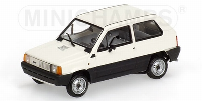 Minichamps 1:43 Fiat Panda 1980 wit