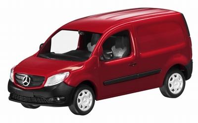 Minichamps 1:43 Mercedes Benz Citan Kastenwagen 2012 rood