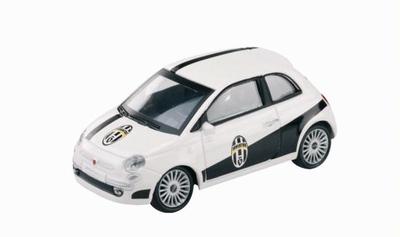 Mondo Motors 1:43 Fiat 500 Juventus wit