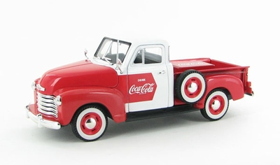 Motor City 1:32 Chevrolet Pickup Coca Cola 1953 met koelbox