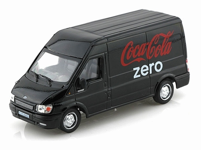Motor City 1:43 Ford Transit Coca Cola Zero