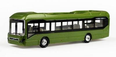 Motorart Volvo 7900 Hybrid bus groen