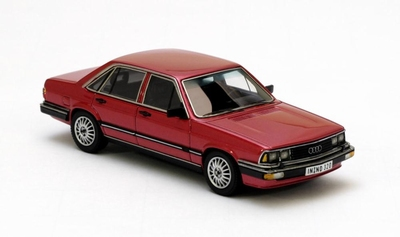 Neo Scale 1:43 Audi 200T Type 43 rood