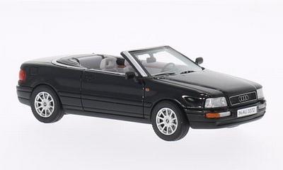 Neo Scale 1:43 Audi 80i Cabriolet 1994 zwart