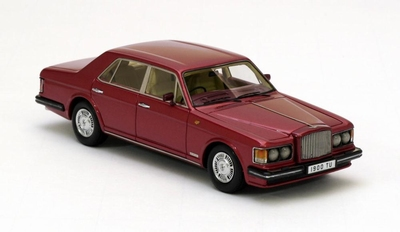 Neo Scale 1:43 Bentley Mulsanne Turbo R metallic rood