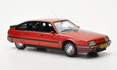 Neo Scale 1:43 Citroen CX 25 GTi Turbo 2 1986 rood