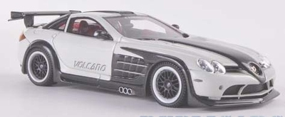 Neo Scale 1:43 Hamann Volcano 2011 wit/ donker anthracite