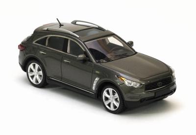 Neo Scale 1:43 Infiniti FX50 S metallic grijs