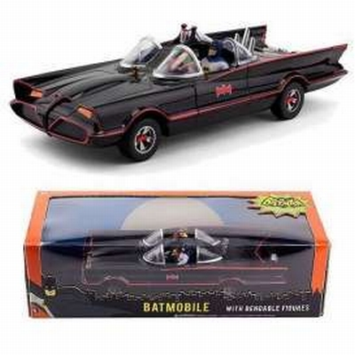 NJCroce 1:24 Batmobile Batman Classicc TV Series met figuren