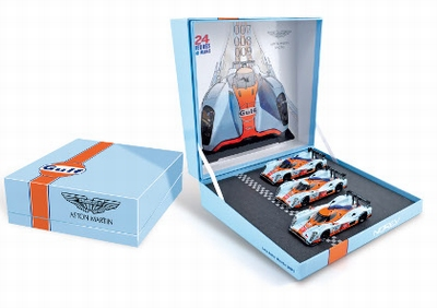 Norev 1:43 Aston Martin LMP1 set Le Mans No 7 No  8 No 9