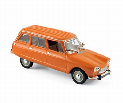 Norev 1:43 Citroen Ami 8 break 1976 oranje