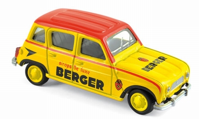 Norev 3 inch Renault 4L 1964 Cycliste - Berger
