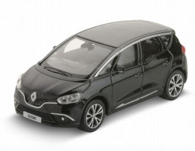 Norev 3 inch Renault Scenic 2016 zwart
