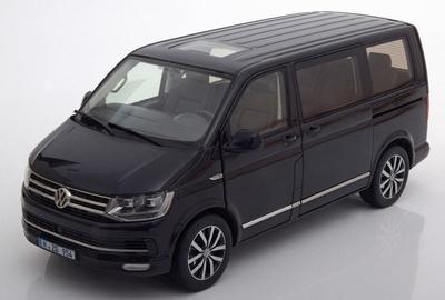 NZG 1:18 Volkswagen T6 Multivan Highline zwart