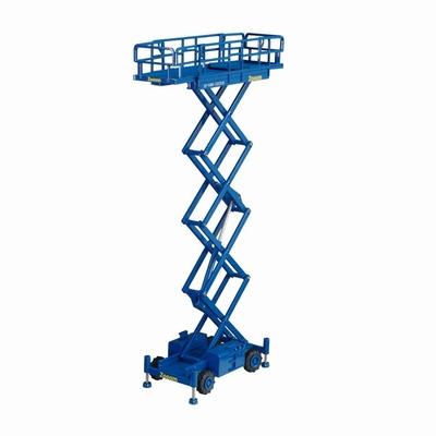 NZG 1:50 Haulotte H15SX Hoogwerker Zoom blauw