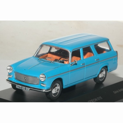 IXO Odeon 1:43 Peugeot 404 break Commerciale blauw