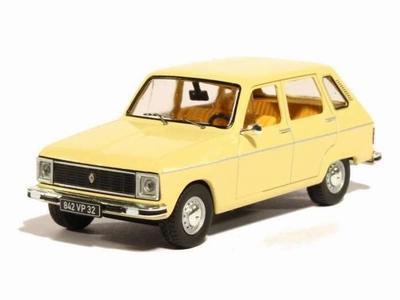 IXO Odeon 1:43 Renault 6 1980 beige