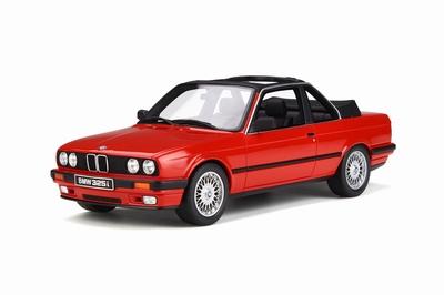 Otto Mobile 1:18 BMW E30 Baur Brilliant Rot