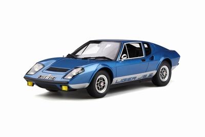 Otto Mobile 1:18 Ligier JS2 blauw metalic