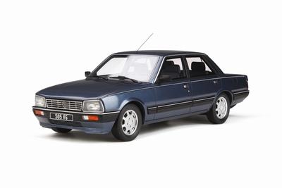 Otto Mobile 1:18 Peugeot 505 V6 Delft blauw