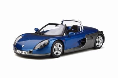 Otto Mobile 1:18 Renault Spider blauw sport