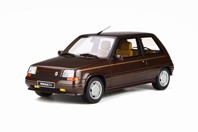Otto Mobile 1:18 Renault Super 5 Baccara bruin