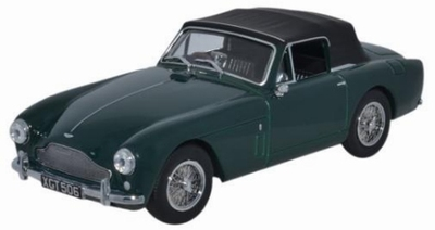 Oxford 1:43 Aston Martin DB2 MKIII DHC groen