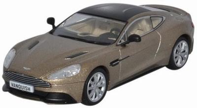 Oxford 1:43 Aston Martin Vanquish Coupe selene bronze