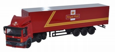Oxford 1:76 DAF 85 40ft Box Trailer Royal Mail
