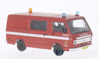 Premium Classixxs 1:43 Volkswagen LT28 bus Brandweer Waspik