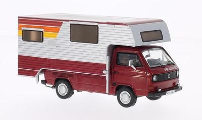 Premium Classixxs 1:43 Volkswagen T3a Pickup Tischer Camping