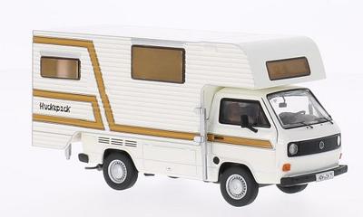 Premium Classixxs 1:43 Volkswagen T3a Tischer Camper wit br