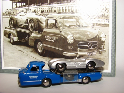 Premium Classixxs 1:87 Mercedes Benz Renntransporter