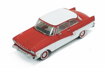 Premium X 1:43 Ford Taunus 17M 1957 rood wit