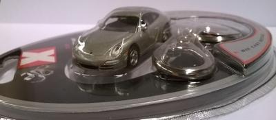 Real-X 1:72 Porsche 911 Carrera zilver