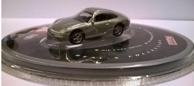 Real-X 1:72 Porsche 911 Carrera zilver zonder sleutelhanger