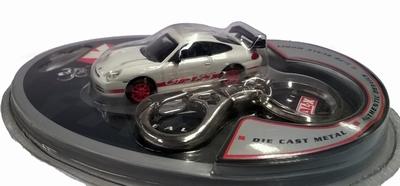 Real-X 1:72 Porsche 911 GT3 RS wit met rood
