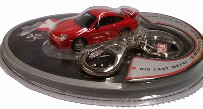Real-X 1:72 Porsche 911 turbo rood