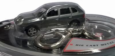 Real-X 1:72 Volkswagen Touareg zilver