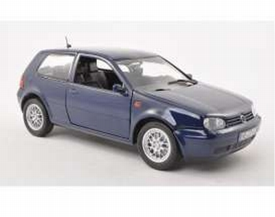 Revell 1:18 Volkswagen Golf IV GTi 1998 blauw