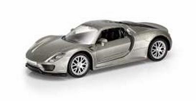 RMZ City 1:32 Porsche 918 zilver