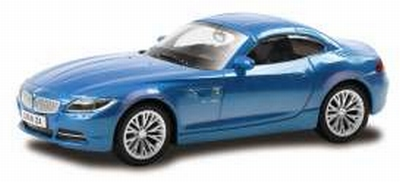 RMZ City 1:43 BMW Z4 2014 blauw